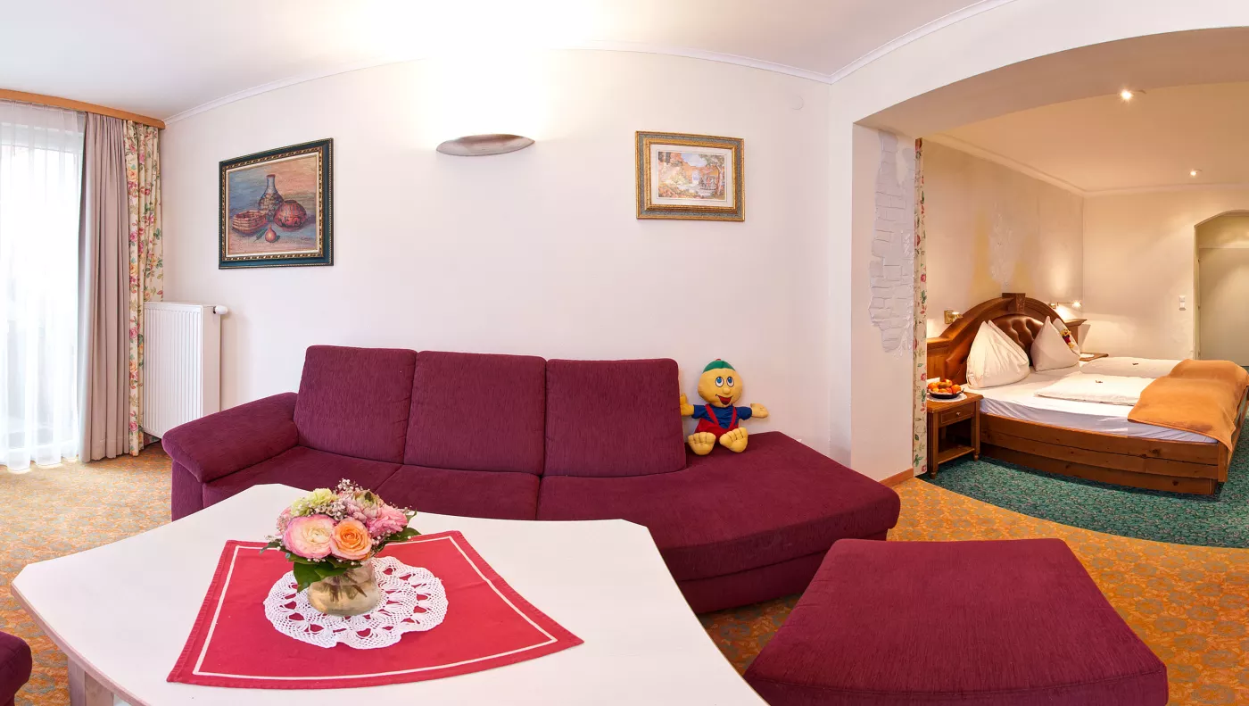 Kinderhotel Zimmer/Appartement Big Familie