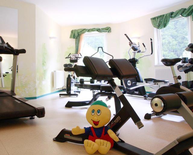 Kinderhotel Smiley - Kärnten - Fitnessraum