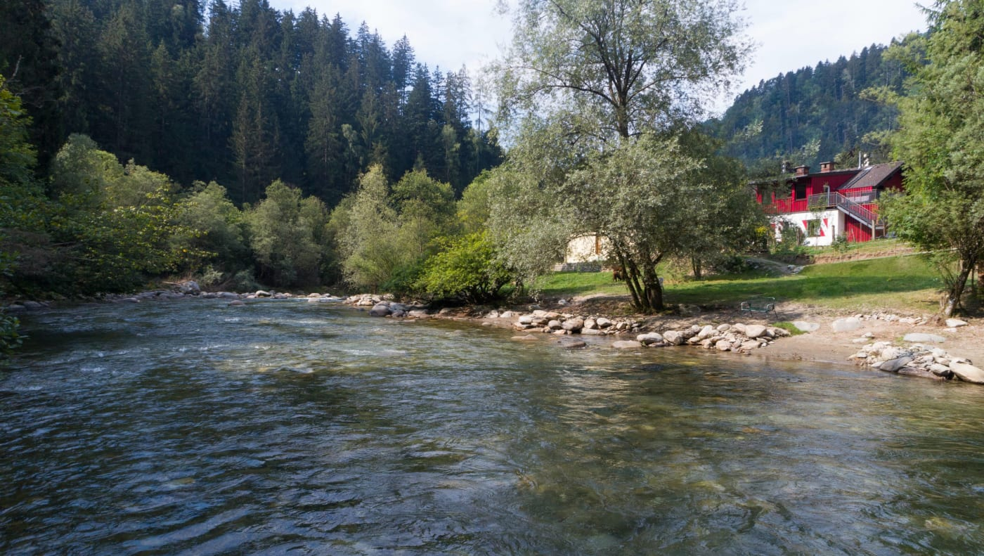 Kinderhotel Smiley - Kärnten - Flusschalet
