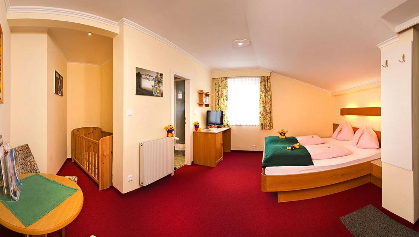 Kinderhotel Zimmer/Appartement Familienzimmer