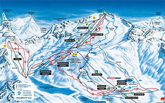 Gletscherschigebiet Mölltaler Gletscher