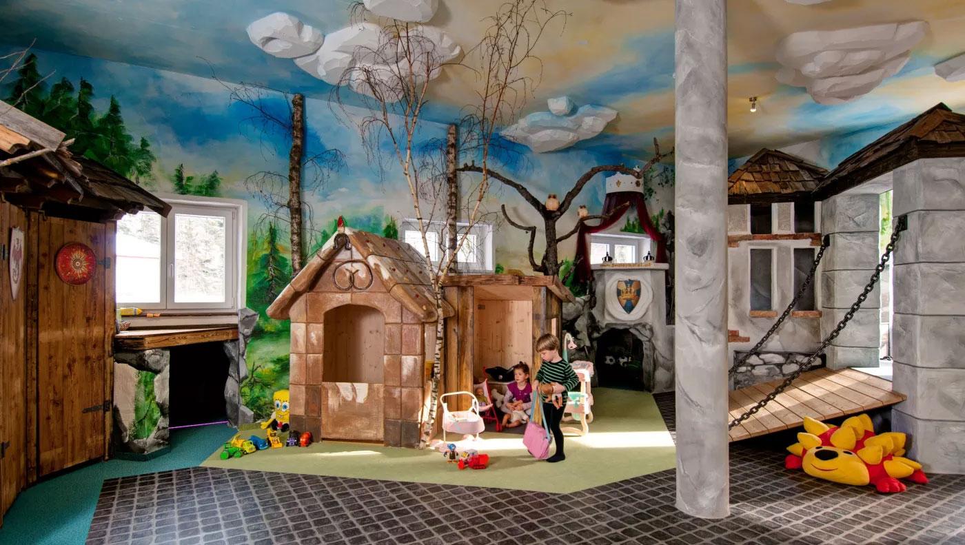 Kinderhotel Smiley - Kärnten - Winter Ritterburg