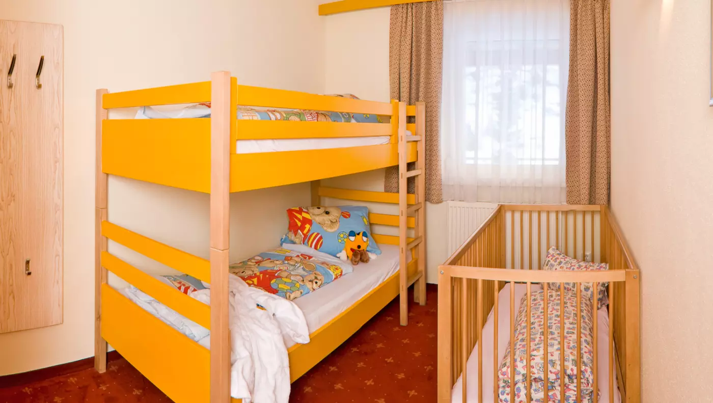Kinderhotel Zimmer/Appartement Smiley Suite
