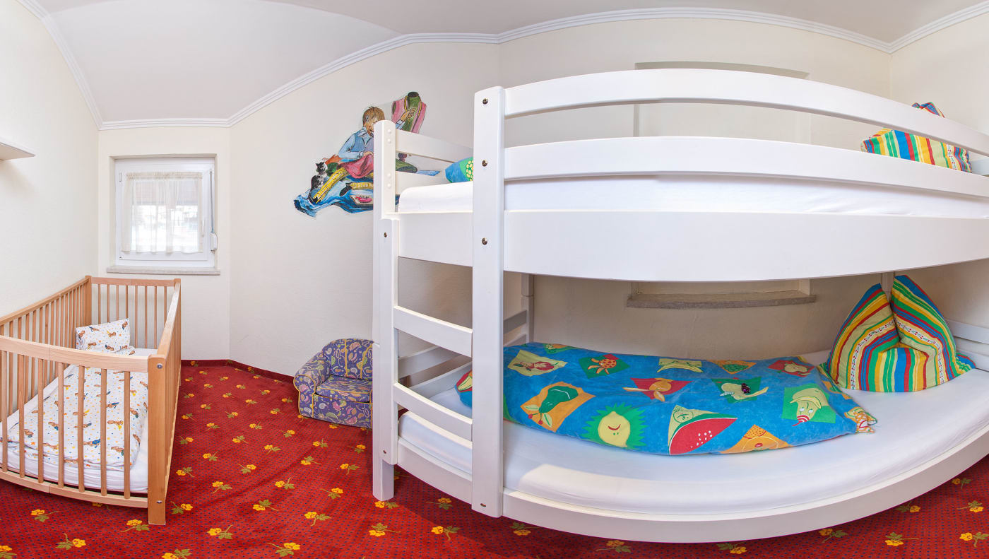 Kinderhotel Zimmer/Appartement Smiline