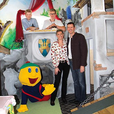 Familie Brandstätter, Kinderhotel Smiley